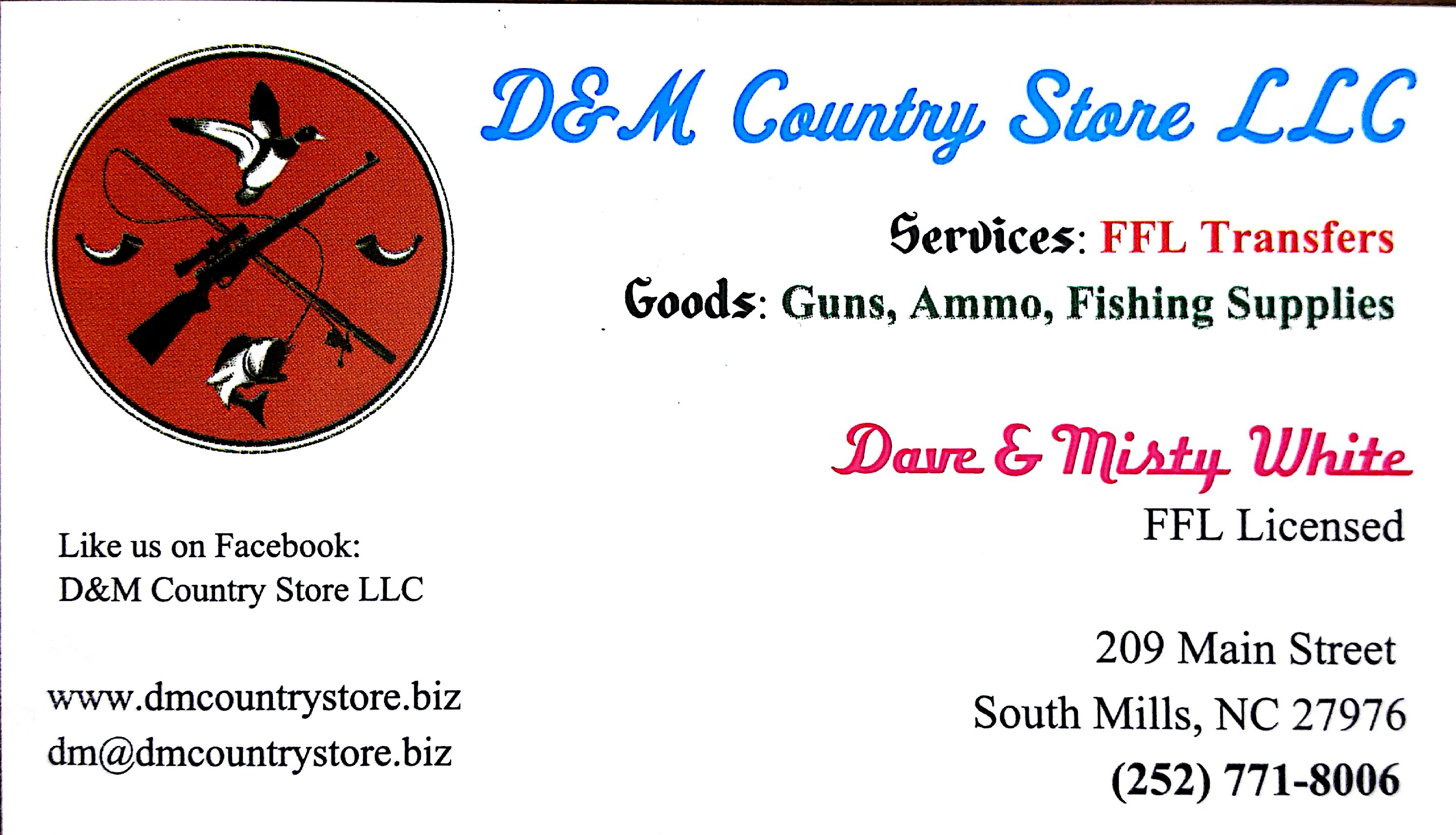 D&M Business Card
